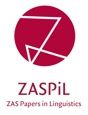 ZASPIL, ZAS Papers in Linguistics.