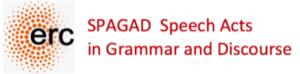 erc, SPAGAD, Speech Acts in Grammar and Discourse.