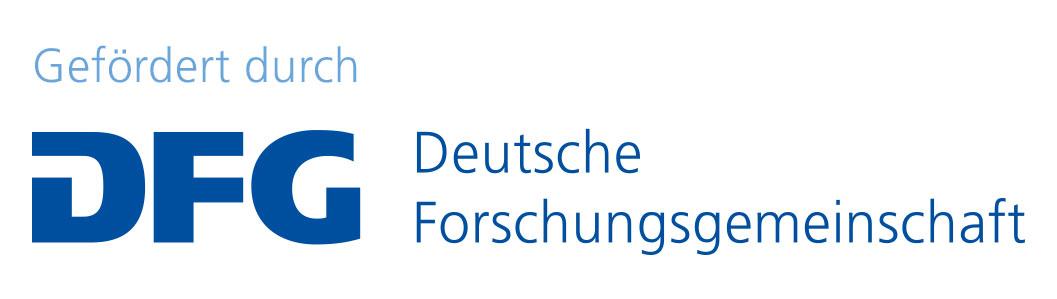 Gefördert durch DFG, Deutsche Forschungsgemeinschaft.