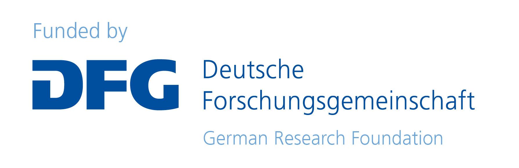 Funded By DFG, Deutsche Forschungsgemeinschaft, German Research Foundation.